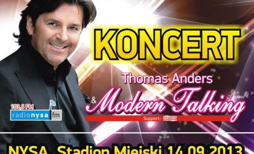 Zbliża się koncert Modern Talking