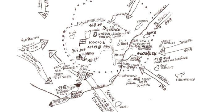 Działania zbrojne w okolicach Głogówka w marcu 1945 r.