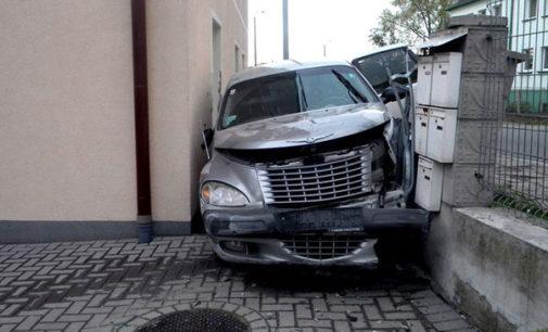 Wypadek w Głogówku