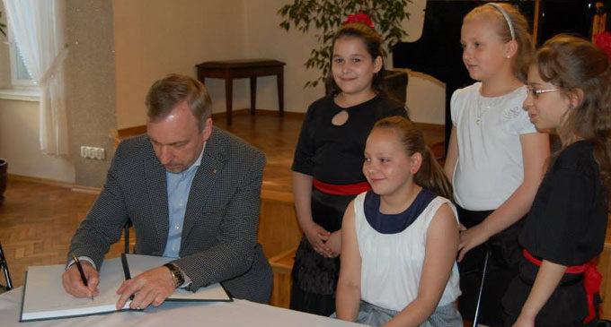 Bogdan Zdrojewski odwiedził Prudnik