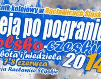 Piknik kolejowy w Racławicach Śląskich