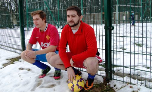 """""""Radzimy sobie nawet z mrozem"""" – czyli futbol jako codzienność"""