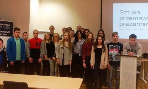 Nauka i biznes w I LO w Prudniku