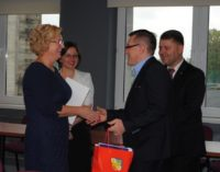 Spotkanie Starosty Prudnickiego z nauczycielami z okazji Dnia Edukacji Narodowej
