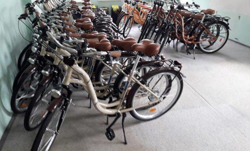 Rowery czekają na wypożyczenie. A wszystko bezpłatnie