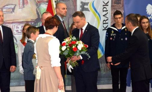 Duda w Krapkowicach: nie ma zgody na agresywny nacjonalizm