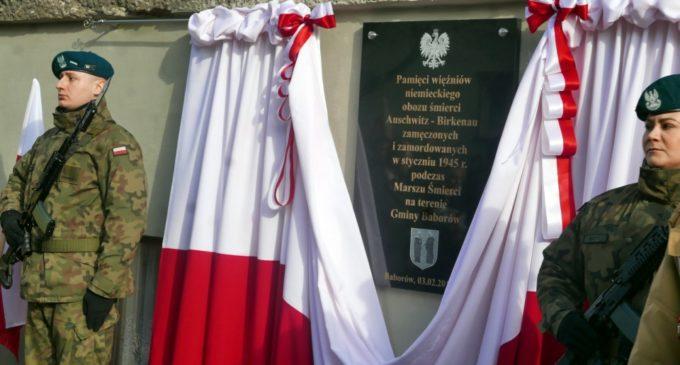 Baborów upamiętnił ofiary Marszu Śmierci