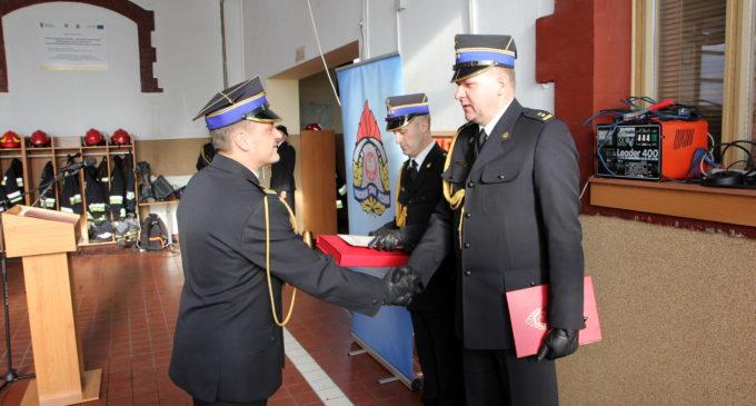 Pożegnano emerytowanych funkcjonariuszy PSP w Prudniku