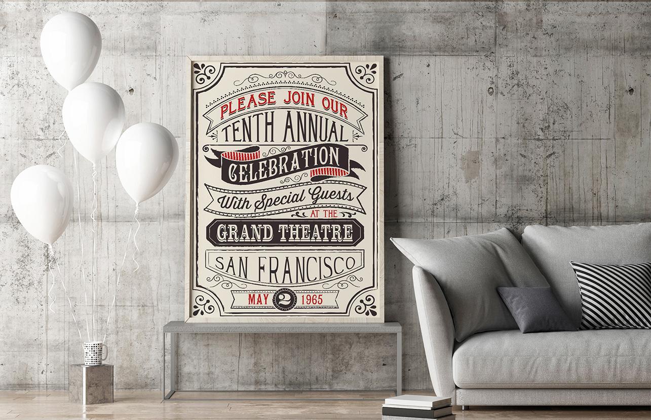 Plakaty Retro Czyli Szybki Sposób Na Mieszkanie W Dawnym