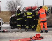 Groźny wypadek w Laskowicach