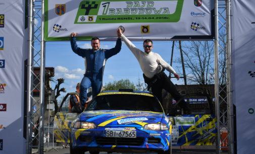 Rajd Baborowa: pierwsze zwycięstwo Damiana Kostki