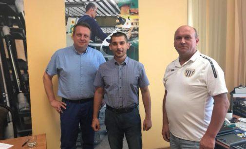 """Spółdzielnia """"Pionier""""  sponsorem piłkarskiej Pogoni"""