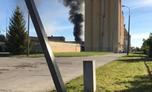 Pożar strawił większość budynku