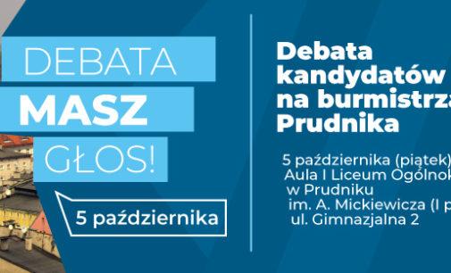 Debata kandydatów na burmistrza już 5 października!