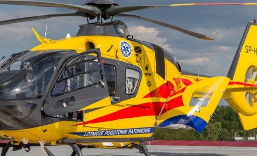 Helikopter LPR lądował w Pogórzu