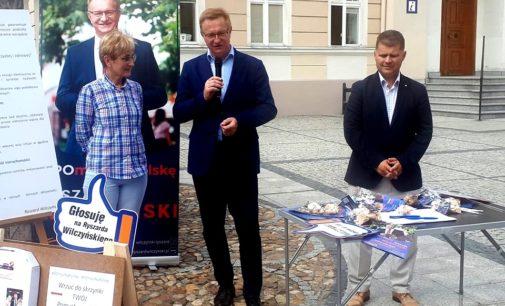 Wilczyński z wyborczą wizytą w Prudniku