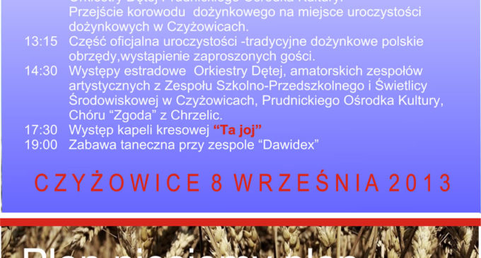 Dożynki 2013 w powiecie prudnickim