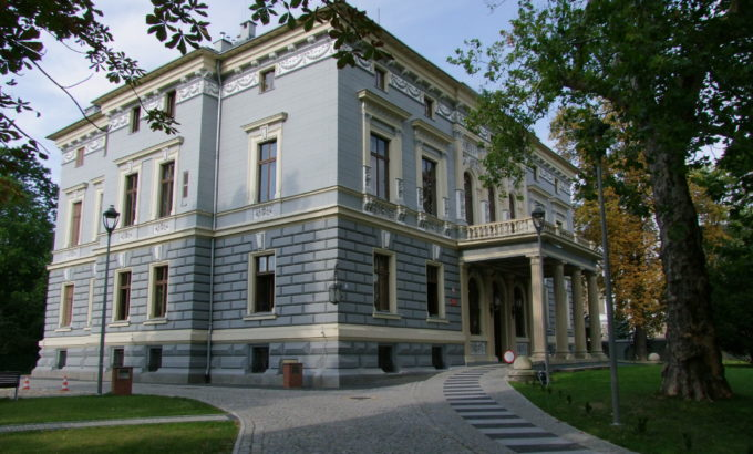 Willa Hermanna Frankla w Prudniku obecnie siedziba Prudnickiego Ośrodka Kultury