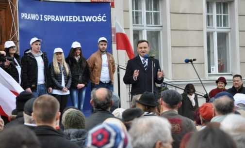 Andrzej Duda z wizytą w Prudniku