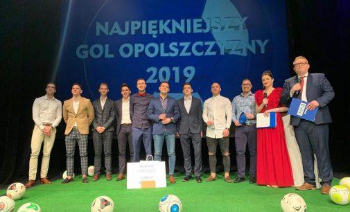 Adrian Nizioł z najpiękniejszą bramką na Opolszczyźnie