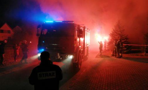 OSP Moszczanka z nowym wozem strażackim