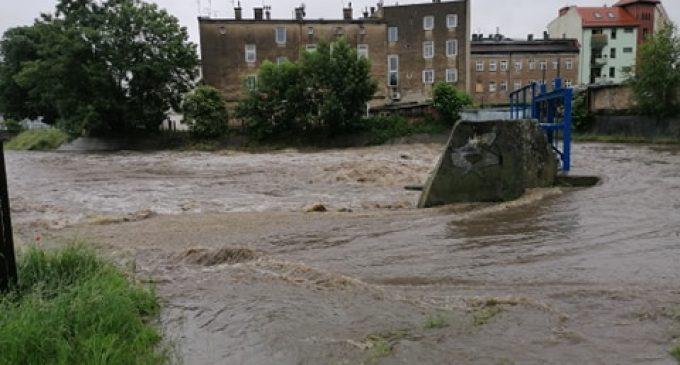Alarm powodziowy w gminie Prudnik