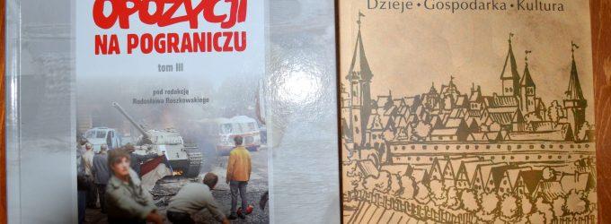 Zaprezentowali dwie nowe książki