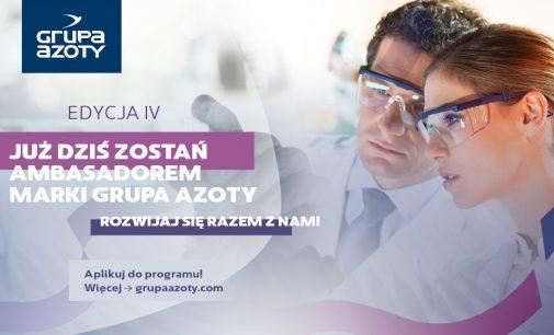 Zostań ambasadorem Grupy Azoty na swojej uczelni!
