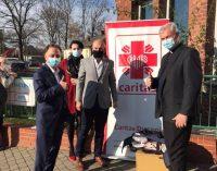 Respirator dla szpitala. Pomógł Caritas