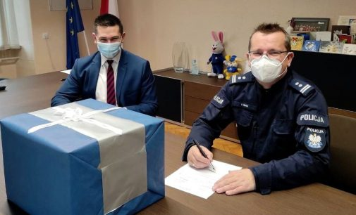 Nowoczesny alkomat dla policjantów z Głogówka