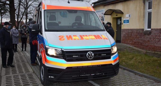Nowy ambulans dla PCM-u