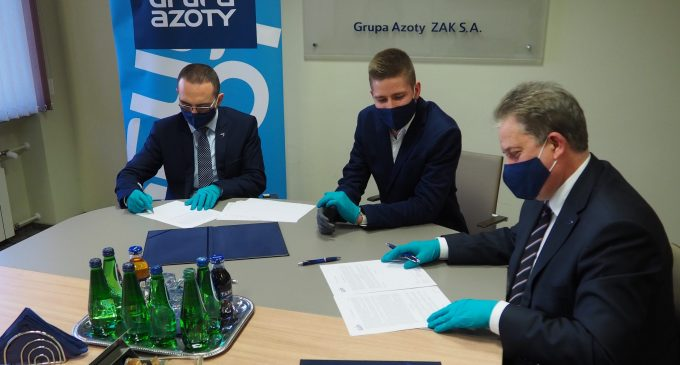 Grupa Azoty ZAK S.A. kontynuuje współpracę z mistrzem parabadmintona