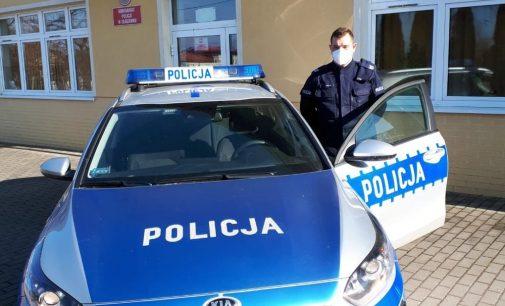 Interweniował w sprawie zwierząt. Policjant z Głogówka otrzymał podziękowania