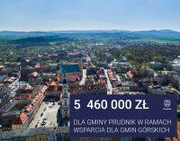 5,5 miliona zł. dla gminy Prudnik