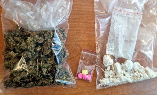 Składzik narkotyków w mieszkaniu prudniczanki