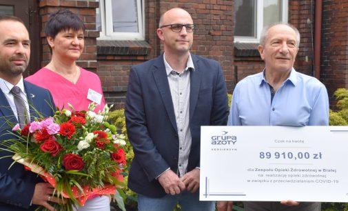 Grupa Azoty ZAK wsparła bialski szpital