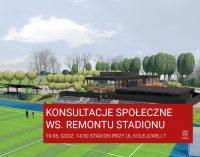 Wypowiedz się w sprawie remontu stadionu! Ruszają konsultacje społeczne