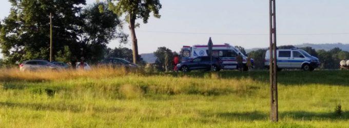 Wierzbiec: potrącona trafiła do szpitala