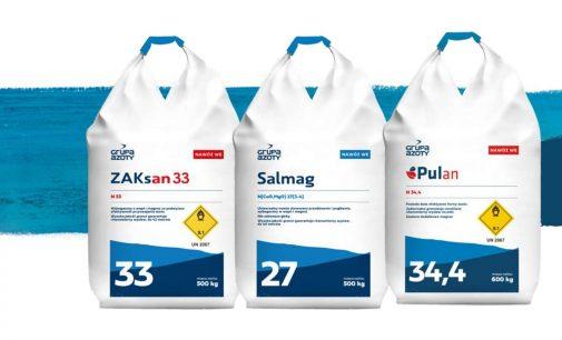 Woda jest życiem. Produkty Grupy Azoty ZAK S.A.